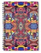 The Joy Of Design Mandala Series Puzzle 3 Arrangement 1 Spiral Notebook