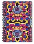 The Joy Of Design Mandala Series Puzzle 3 Arrangement 4 Spiral Notebook