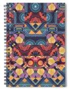 The Joy Of Design Mandala Series Puzzle 5 Arrangement 1 Spiral Notebook