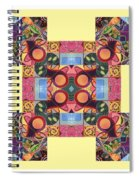 The Joy Of Design Series Arrangement - Seek And You Will Find Spiral Notebook