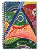 The Joy Of Design V Part 2 Spiral Notebook