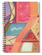 The Joy Of Design X I X Spiral Notebook