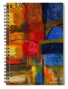 The Joy Of Planning An Abstract Painting At Starbucks Spiral Notebook