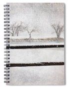 The Joy Of Snow Spiral Notebook