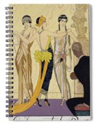 The Judgement Of Paris Spiral Notebook