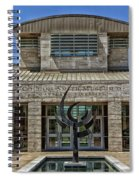 The Jule Collins Smith Museum Of Fine Art Spiral Notebook