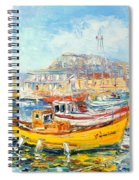 The Kalk Bay Harbour Spiral Notebook