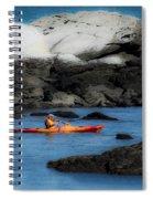 The Kayaker Spiral Notebook