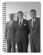 The Kennedy Brothers Spiral Notebook