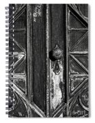 The Key Hole Spiral Notebook