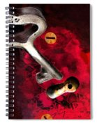 The Key To My Heart Spiral Notebook
