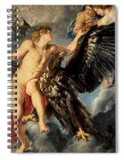 The Kidnapping Of Ganymede Spiral Notebook