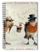 The Kindly Robin Spiral Notebook