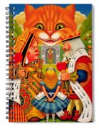 The King And Queen Of Hearts, 2010 Spiral Notebook