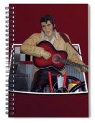 The King Elvis Spiral Notebook