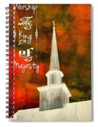 The King Of Majesty Spiral Notebook