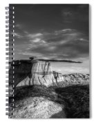 The King Of Wings Monochrome Spiral Notebook
