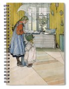 The Kitchen From A Home Series Spiral Notebook