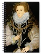 The Kitchener Portrait Of Queen Spiral Notebook