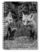 The Kits Monochrome Spiral Notebook