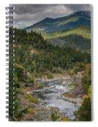 The Klamath Runs Through It Spiral Notebook