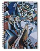 The Knife Grinder Spiral Notebook