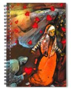 The Knight Of Your Heart Spiral Notebook