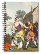 The Knight Submits To Trulla Spiral Notebook
