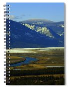 The Kootanie River In Bonners Ferry Idaho Spiral Notebook