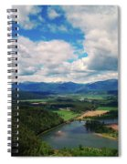 The Kootenai River Spiral Notebook