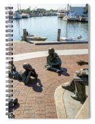 The Kunta Kinte-alex Haley Memorial In Annapolis Spiral Notebook