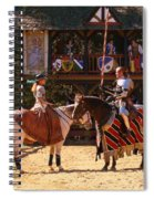 The Lady And The Knight Spiral Notebook