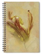 The Lady And The Parrot Tulip Spiral Notebook