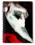 The Lady Is Not For Turning  Spiral Notebook