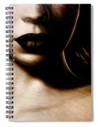 The Lady Who Waits Spiral Notebook