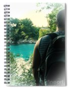 The Lagoon Spiral Notebook