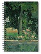 The Lake At Jas De Bouffan, C.1873-76 Spiral Notebook