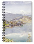 The Lake Of Lucerne, Mount Pilatus Spiral Notebook