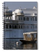 The Lake Palace, India Spiral Notebook