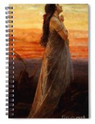 The Lament Of Jephthahs Daughter Spiral Notebook