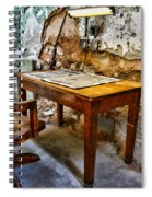 The Lamp And The Chair Spiral Notebook