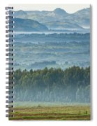 The Land Of A Thousand Hills Spiral Notebook