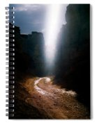 The Land Of Light Spiral Notebook