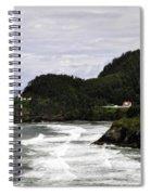 The Landscape Of Heceta Spiral Notebook