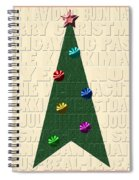 The Language Of Christmas Spiral Notebook