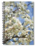 The Language Of Spring Spiral Notebook