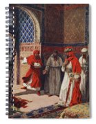 The Last Council Of Boabdil Spiral Notebook