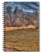 The Last Days Of Fall Spiral Notebook