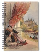 The Last Days Of Francis I Spiral Notebook
