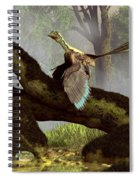 The Last Dinosaur Spiral Notebook